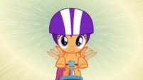Scootaloo scootering at high speed S8E6