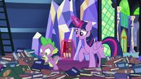 """Twilight """"nice that you have somepony"""" S8E24"""
