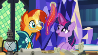 Twilight Sparkle -we could write to each other!- S7E24