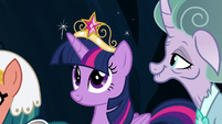 Twilight Sparkle wearing the element of magic S7E26