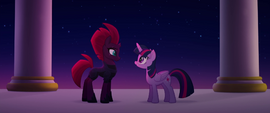 Twilight complimenting Tempest's power MLPTM