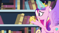 Cadance searching for the book S6E2