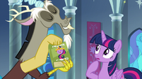 Discord presents 'How to Rule Equestria' S9E1