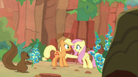 "Fluttershy ""convinced the Kirin to talk"" S8E23"