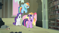 Main 6 searching for Spike S4E06