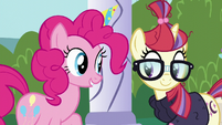 Pinkie Pie and Moon Dancer -right!- S5E12