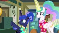 Princess Luna -a mailpony took it- S9E13