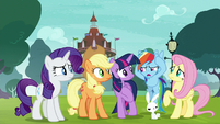 """Rainbow """"is it supposed to sound like that?"""" S8E18"""