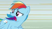"Rainbow Dash ""anypony seen Scootaloo?"" S8E20"