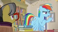 """Rainbow Dash """"is really Dr. Caballeron"""" S9E21"""