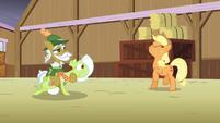"Raise This Barn - Applejack ""yee-haw!"" S3E8"