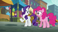 """Rarity """"if you can catch up with him"""" S6E3"""
