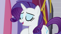 "Rarity ""the help of my new manager"" S5E14"