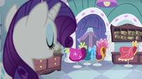 Rarity in her working room S5E14