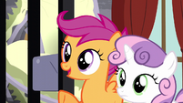 "Scootaloo ""we've got a plan to help you"" S5E6"