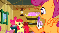 Scootaloo brings the glitter S2E17