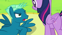 """Sky Stinger angry """"I need a lot of practice"""" S6E24"""