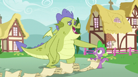 Sludge being supportive of Spike S8E24