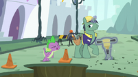 """Spike shouting """"stop right now!"""" S5E10"""