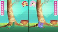 Sunset's avatar falls off of the tree EGDS34