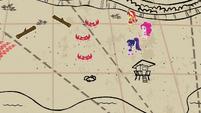Sunset and friends on 8-bit treasure hunt EGDS13