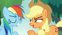 """Applejack """"only as right as you are!"""" S8E9"""