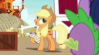 "Applejack ""the folks beyond Equestria"" S9E26"