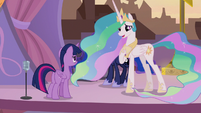 Celestia -we don't know what to say- S9E17