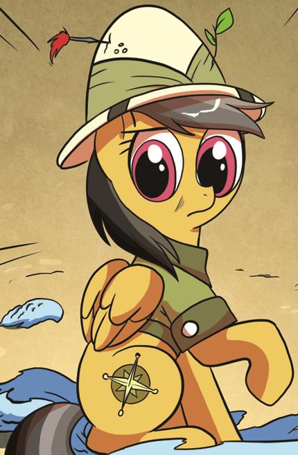 List of comic ponies/Pegasus ponies