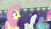 """Fluttershy """"who says that?"""" S8E4"""
