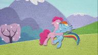 MAFH 10 Pinkie Pie zbyt mocno przytula Rainbow Dash