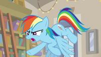 "Rainbow Dash ""ruin Daring Do's reputation"" S9E21"