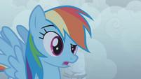 "Rainbow Dash ""who?"" S1E02"
