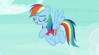 "Rainbow Dash ""you still flew rings around me"" S6E18"