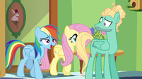 Rainbow Dash joins in the song S6E11