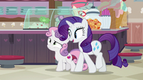 """Rarity """"excited to be back here"""" S7E6"""