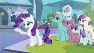 Rarity flicking hair S3E1