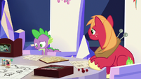 """Spike """"all alone... with no friends"""" S6E17"""