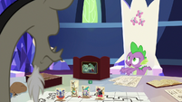 """Spike """"you were just standing there, all alone!"""" S6E17"""