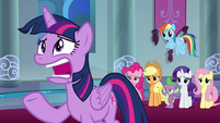 """Twilight Sparkle """"months if not years?!"""" S9E1"""