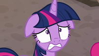 Twilight watches the sunset in horror S8E26