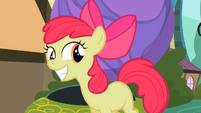 Apple Bloom grins S2E06