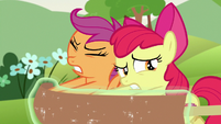 Apple Bloom worried about this plan S7E7