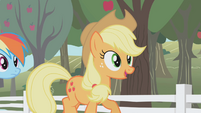 "Applejack ""Drummin' up business for the farm"" S01E03"