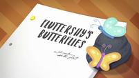 Fluttershy's Butterflies title card CYOE2