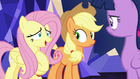 "Fluttershy ""you should go instead of me"" S8E23"