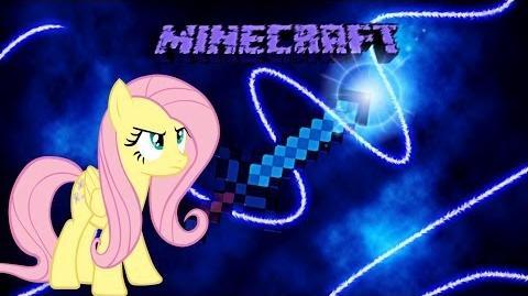 Fluttershy Plays Minecraft