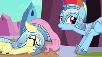 Fluttershy whimpers S3E02
