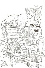 Friends Forever issue 4 cover RI uncolored