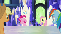 "Pinkie ""make ponies laugh in person"" S9E14"